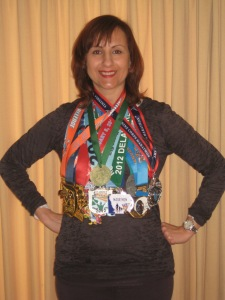 Medals earned in 2012