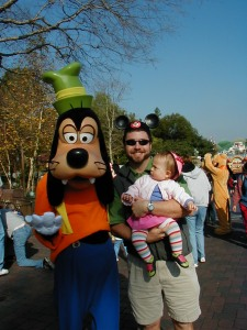 Disneyland, January 2004