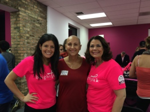 Bright Pink founder, Lindsay and her mother, Wendy