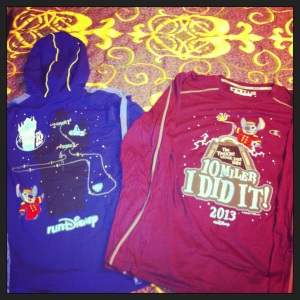 runDisney Official Merchandise Purchases