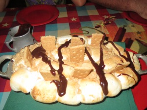 sinful s'mores bake