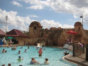 Slide at Main Pool