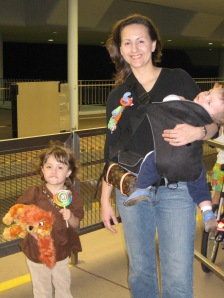 January 2006 - new baby in tow
