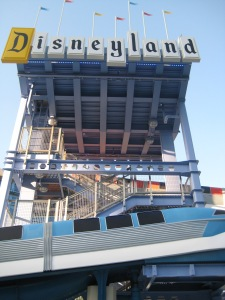 Disneyland Hotel e-ticket waterslides
