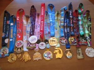My 2014 runDisney medals
