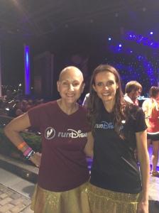 With Diet Diva, Tara Gidus