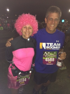 With Pete from My Couch to Marathon Journey