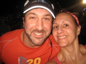 Joey Fatone with ME! 2013 WDW Half Marathon