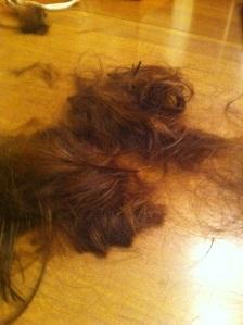 Cutting off my hair