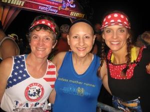 With Linda and Tara