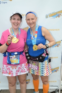 Finishers of the 2014 WDW Half Marathon!