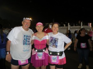 With Mike & Michelle before the Princess 5K