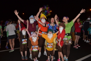 Before the WDW Family Fun Run 5K