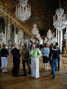 Hall of Mirrors, Palace of Versailles 2002
