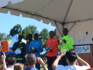 Winners of the men's race