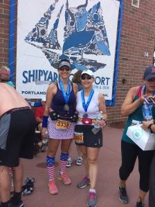 Finishers of the Shipward Old Port Half Marathon