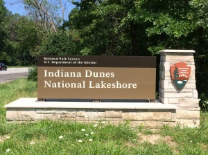Indiana Dunes Natl  Seashore - 1st stop on our trip