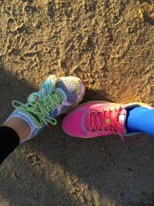 Race shoes!