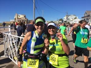 Finishers of the Surftown Half Marathon