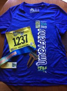 33rd race of 2014 and my 31st half marathon