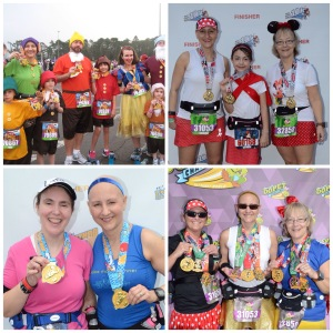 Photos from 2014 Walt Disney World Marathon Weekend:  Family 5K, 10K, Half, Full