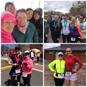 Breast Cancer Walk, 1/4 Marathon, Legends 4-miler, Simsbury 10K