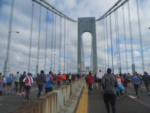 The 1st mile of the NYC Marathon...