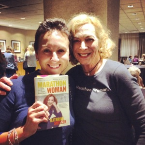 With Kathrine Switzer