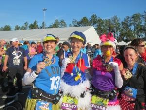 Finishers of the WDW Half Marathon